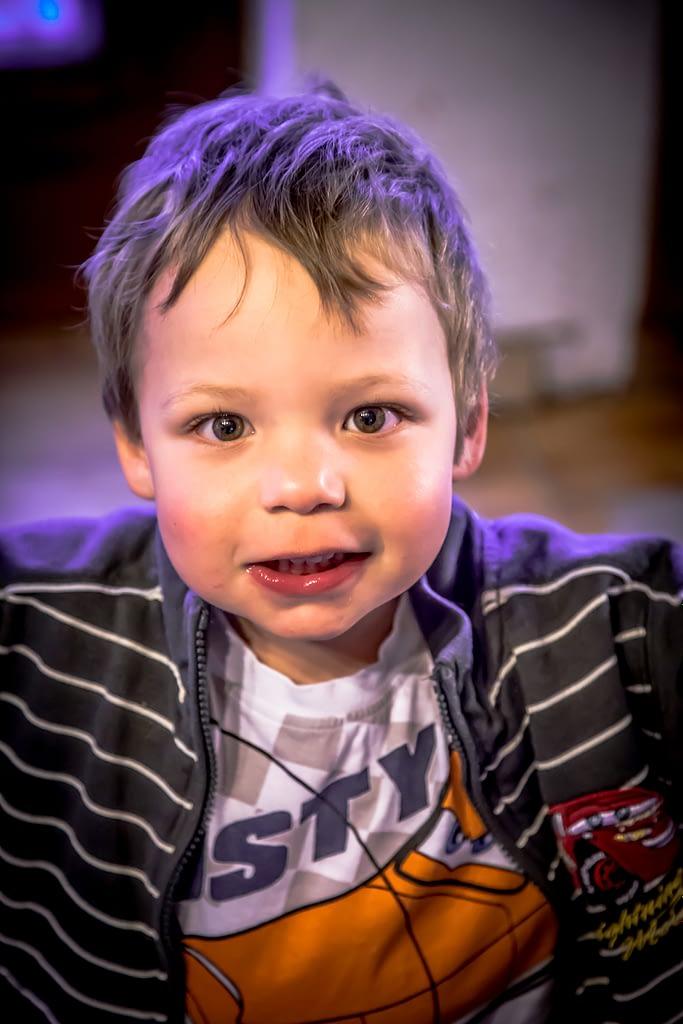 Photographie d'enfant Stéphane Thirion photographe Belgique province du Luxembourg